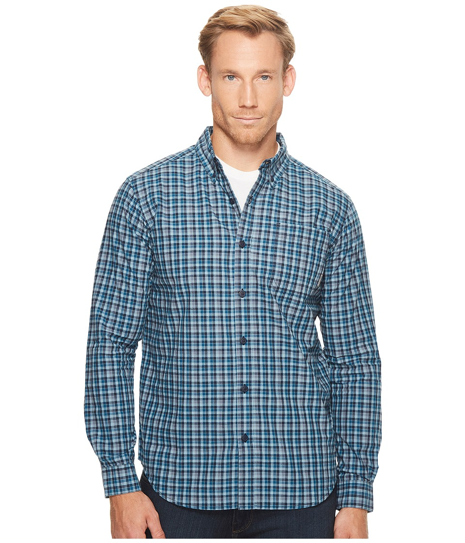 Columbia - Rapid Riverstm II Long-Sleeve Shirt (Phoenix Blue Mini Check) Men's Long Sleeve Pullover