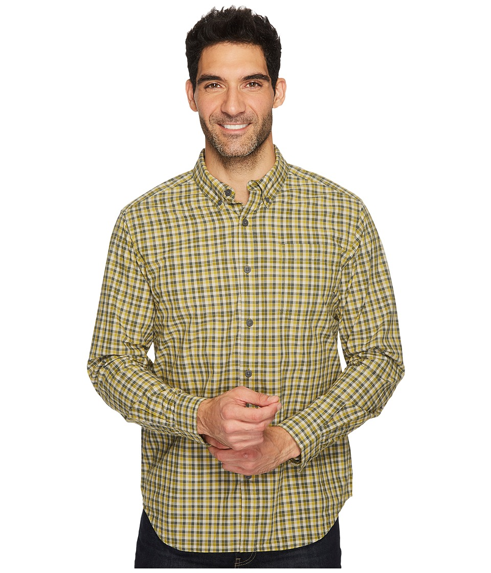 Columbia - Rapid Rivers II Long-Sleeve Shirt (Peppercorn Mini Check) Men's Long Sleeve Pullover