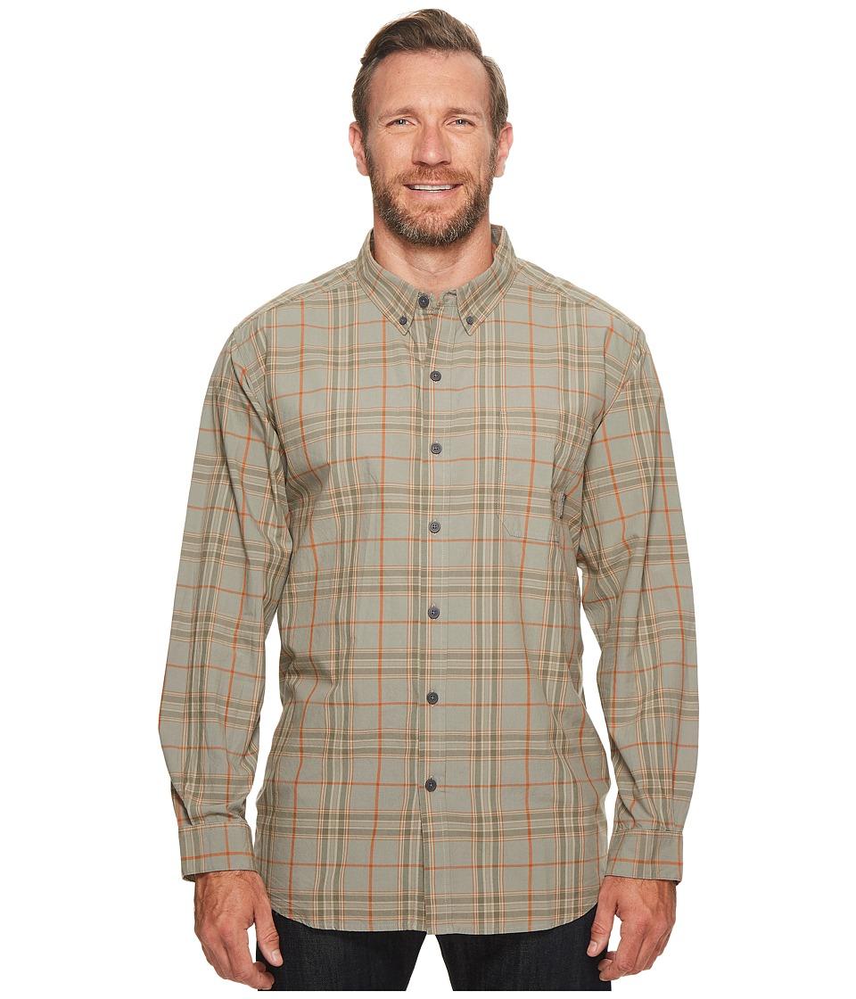 Columbia - Big Tall Rapid Riverstm II Long Sleeve Shirt (Bright Copper Plaid) Men's Long Sleeve Button Up