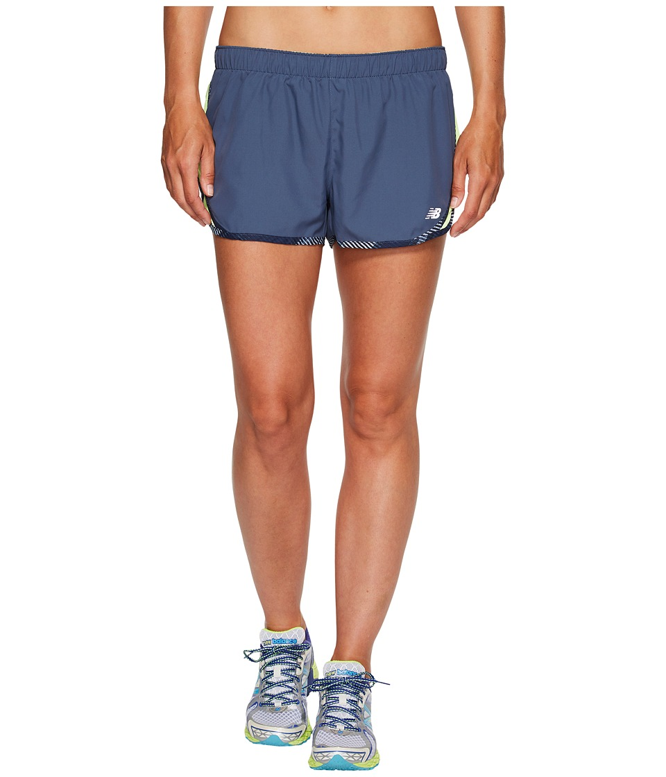 New Balance - Accelerate 2.5 Shorts (Vintage Indigo) Women's Shorts
