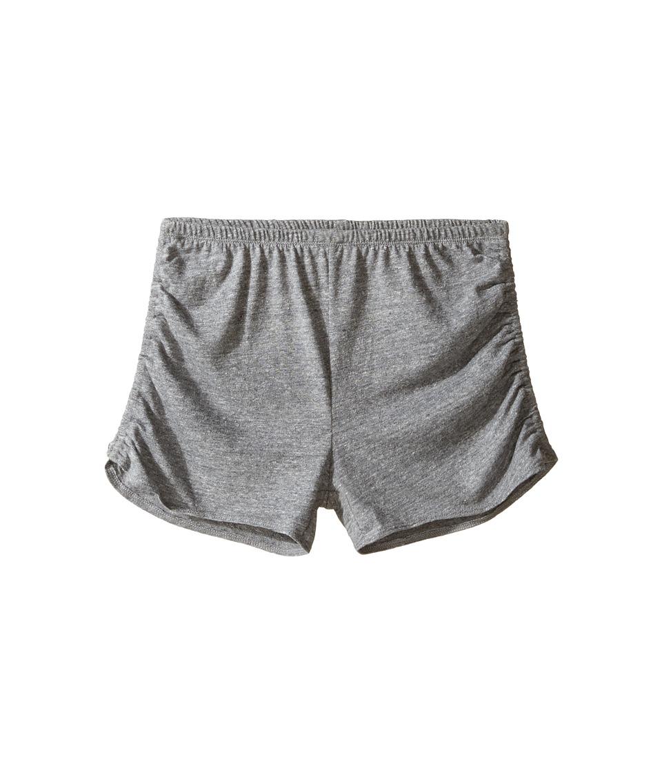 Chaser Kids - Super Soft Tri-Blend Side Shirred Shorts (Big Kids) (Streaky Grey) Girl's Shorts
