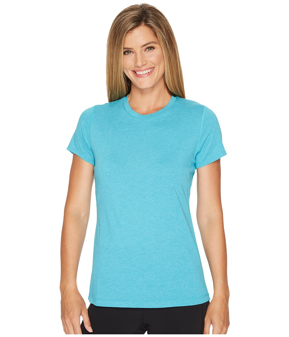 New Balance Heather Tech Tee (Pisces Heather) Women