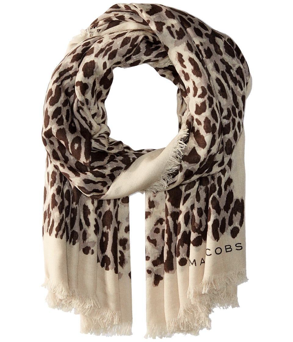 Marc Jacobs - Leopard Stole (Multi) Scarves