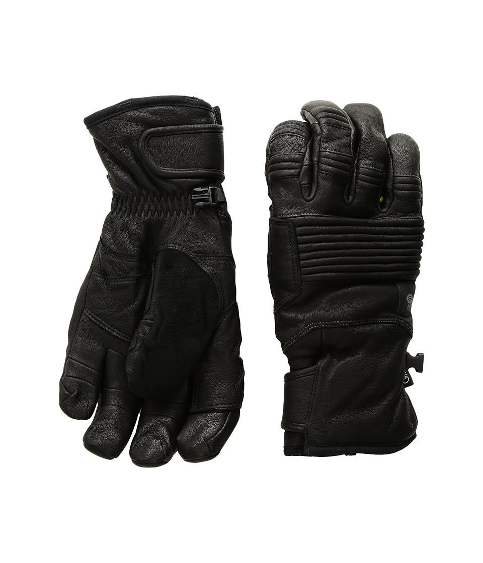 Mountain Hardwear BoundarySeeker Gloves (Black) Extreme Cold Weather Gloves