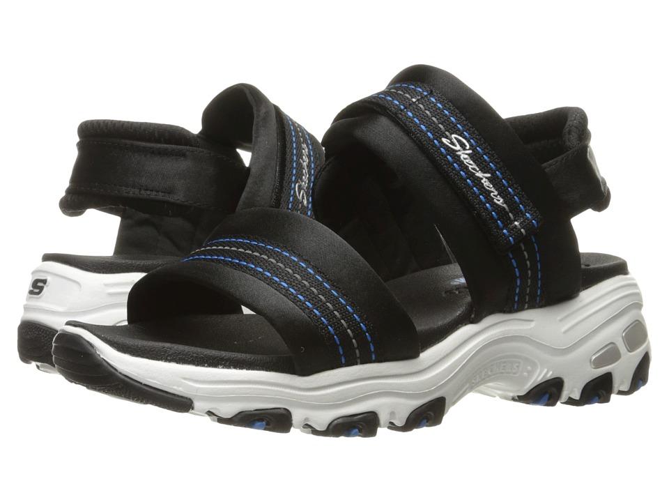 SKECHERS - D'Lites - Theories (Black) Women's Sandals