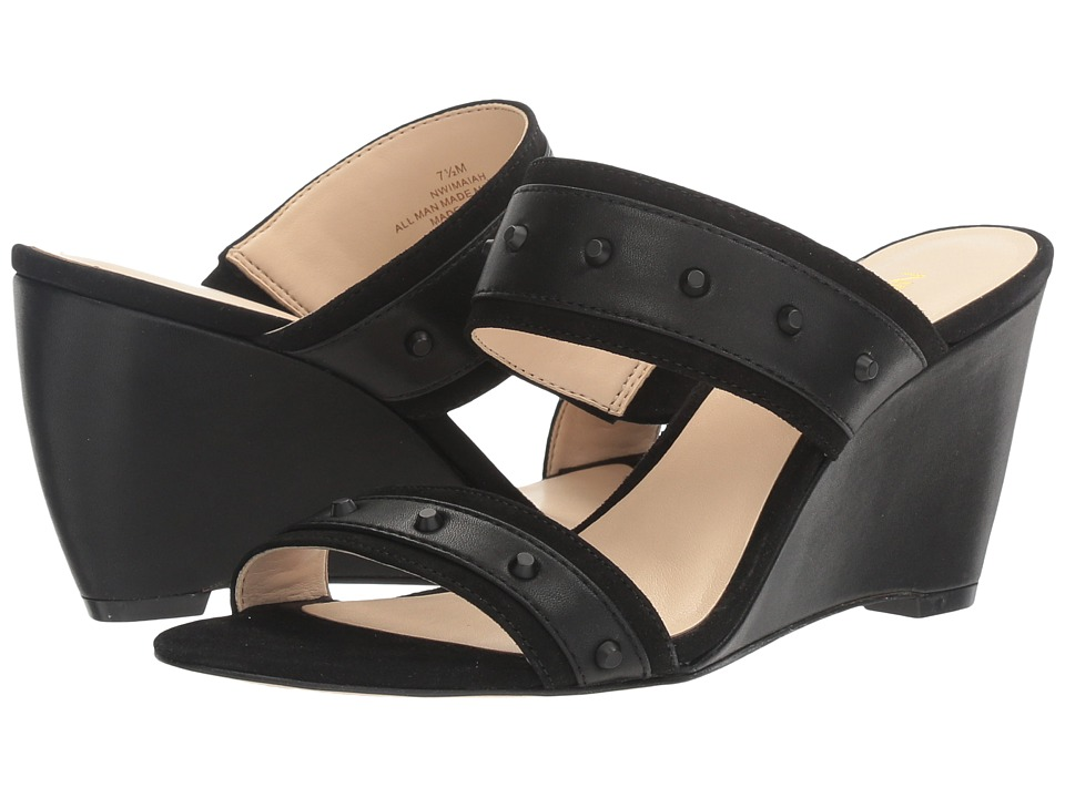 Nine West - Imaiah (Black/Black Synthetic) Women's Shoes