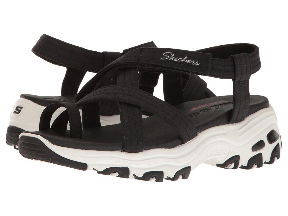 SKECHERS - D'Lites - Way2Go (Black) Women's Sandals