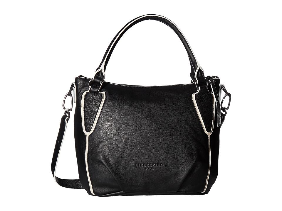 Liebeskind - Gina S7 (Nairobi Black) Handbags