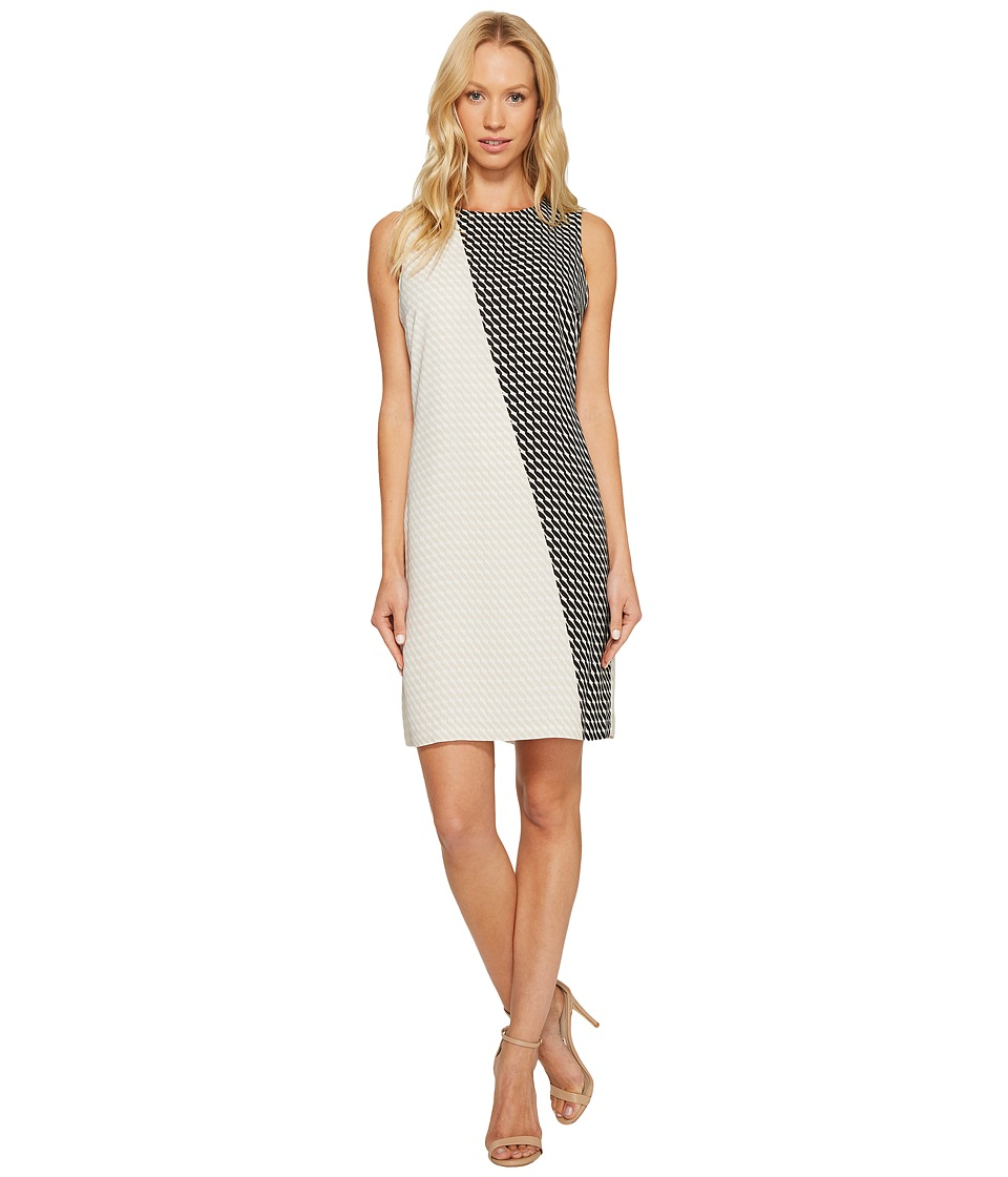 Vince Camuto Sleeveless Modern Slant Shift Dress
