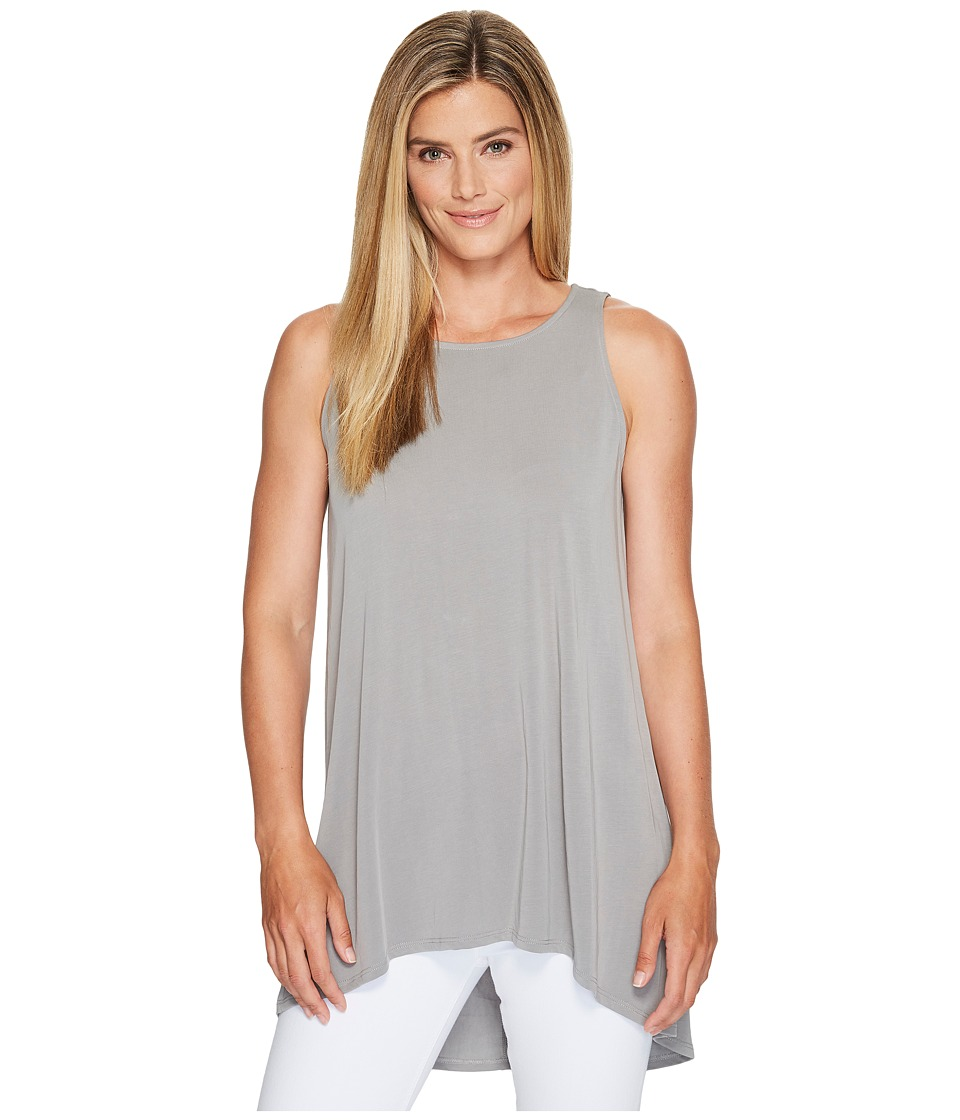 Vince Camuto - Sleeveless High-Low Hem Top (Light Steel Grey) Women's Sleeveless