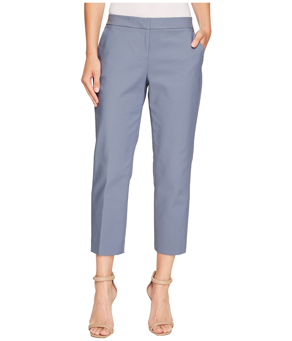 Vince Camuto - Front Zip Crop Pants (Slate Tile) Women's Casual Pants