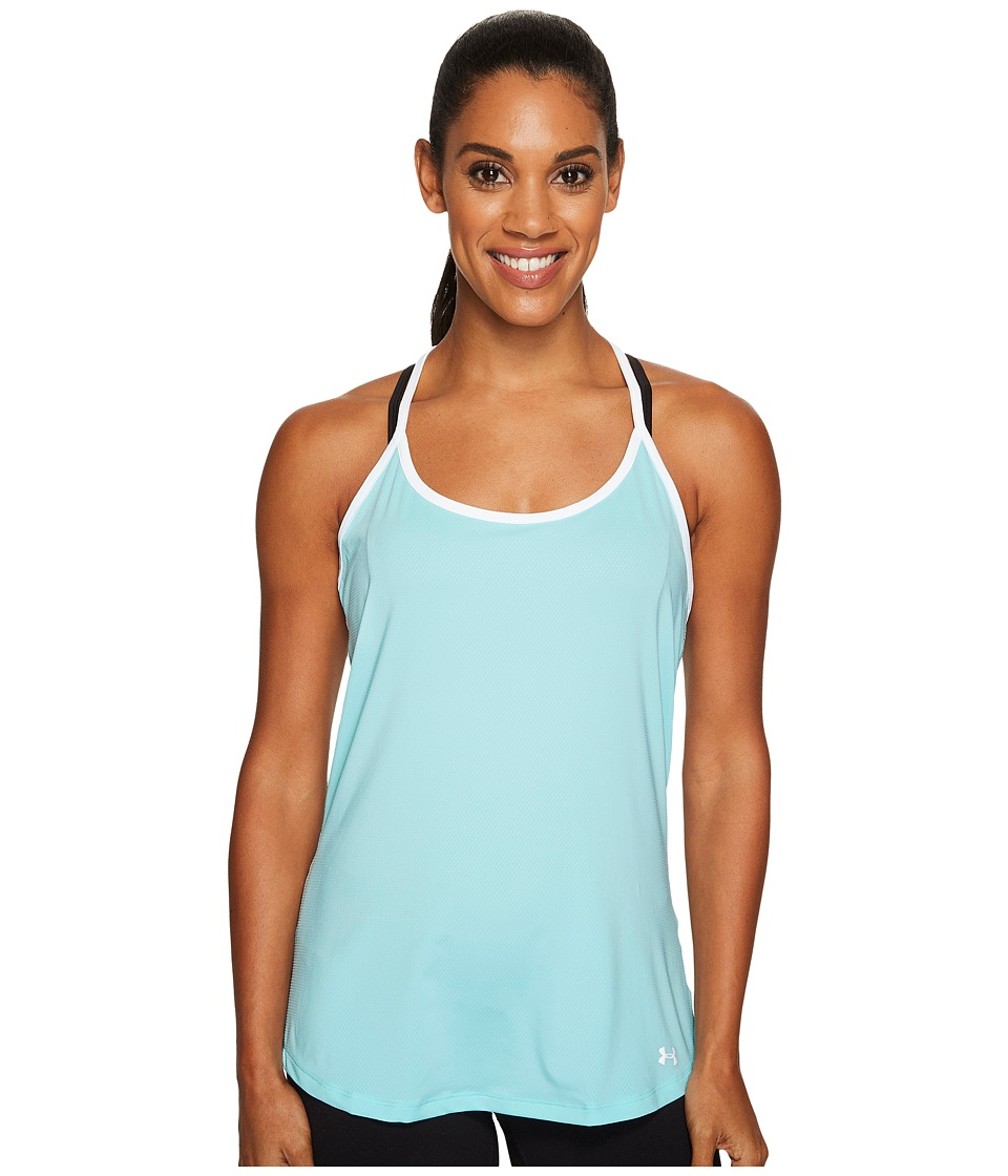 Under Armour Fly By Racerback Tank Top (Blue Infinity/White/Reflective) Women