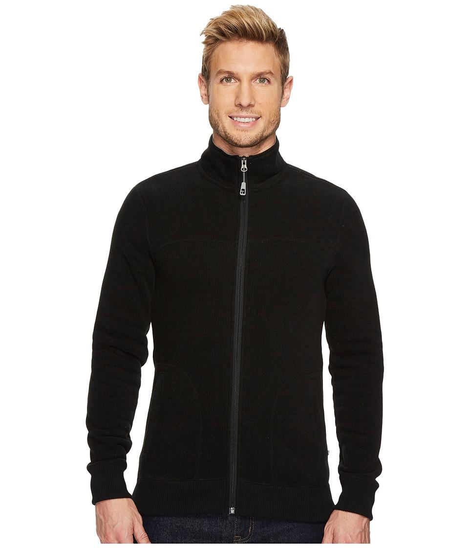Toad&Co Ajax Fleece Jacket (Black) Men