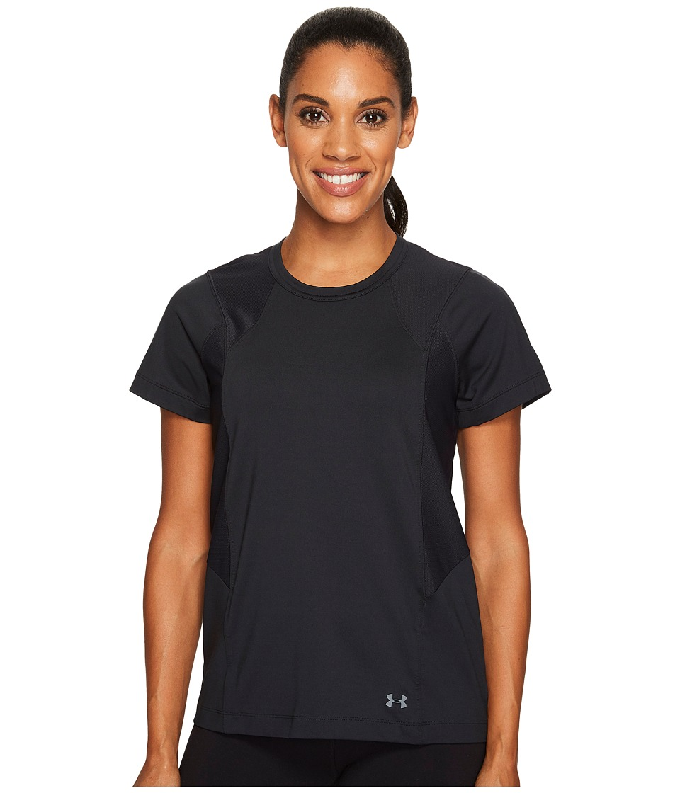 Under Armour - Flashy Tee (Black/Tonal) Women's T Shirt