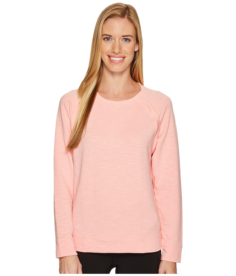 Under Armour - Plush Terry Crew (Cape Coral/Tonal) Women's Clothing
