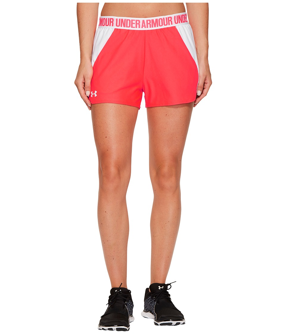 Under Armour - New Play Up Shorts (Marathon Red/White/White) Women's Shorts