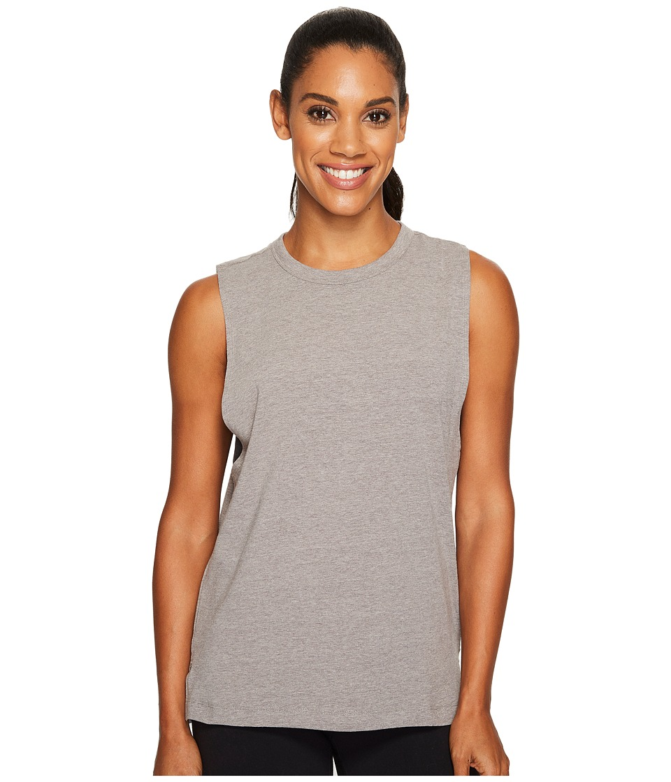 Under Armour Muscle Tank Top (Charcoal Light Heather/Black) Women