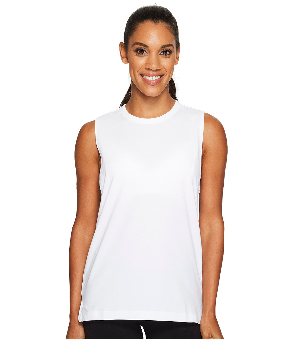 Under Armour Muscle Tank Top (White/Overcast Gray) Women