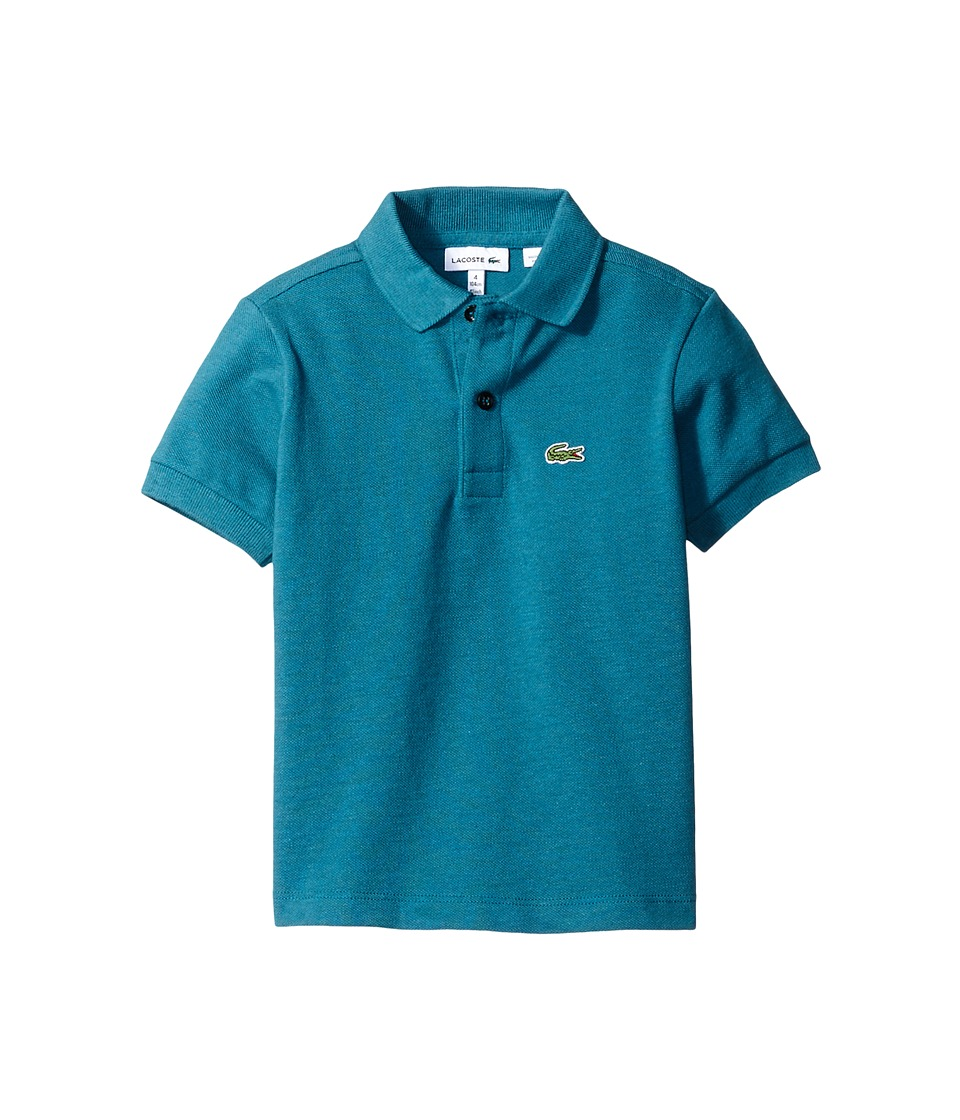 Lacoste Kids - L1812 Short Sleeve Classic Pique Polo (Toddler/Little Kids/Big Kids) (Chine Vine) Boy's Short Sleeve Pullover