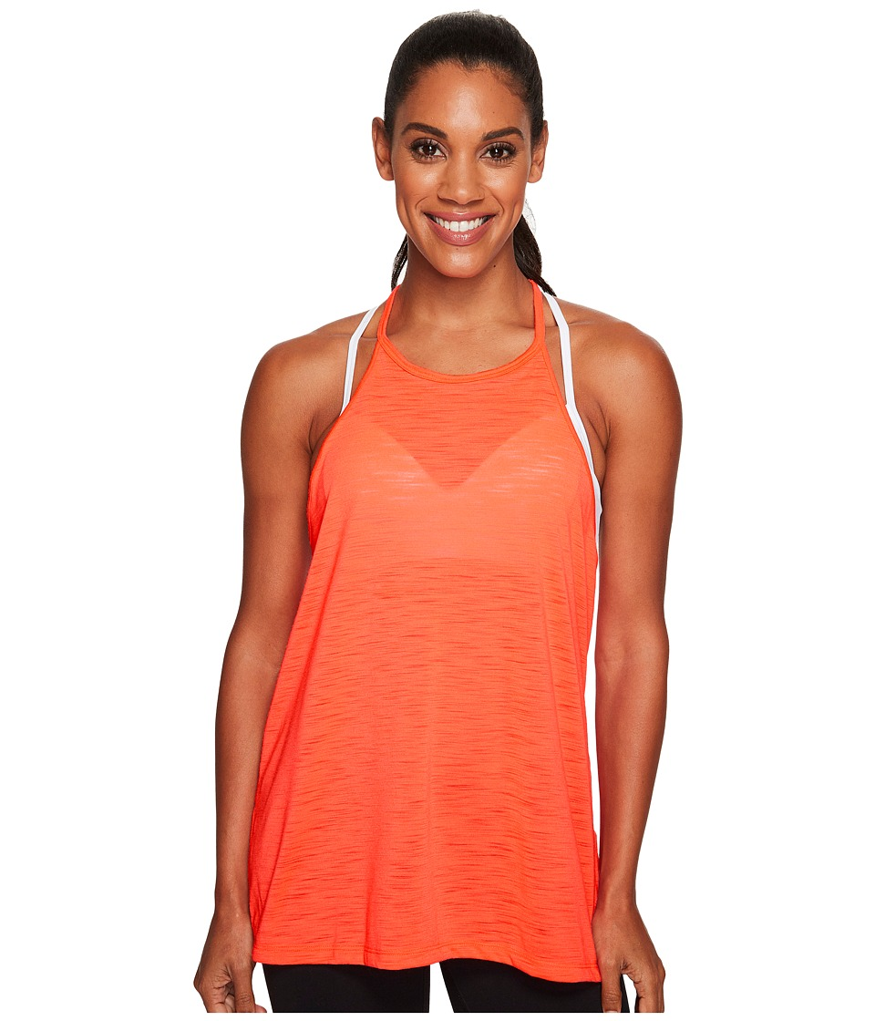 Under Armour Threadborne Fashion Tank Top (Marathon Red/Steel) Women