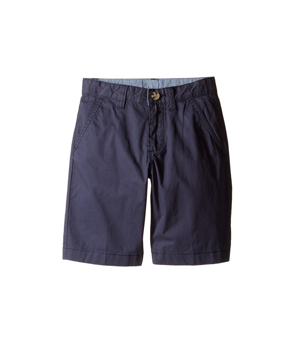 Lacoste Kids - Classic Gab Bermuda Shorts (Little Kids/Big Kids) (Navy Blue) Boy's Shorts