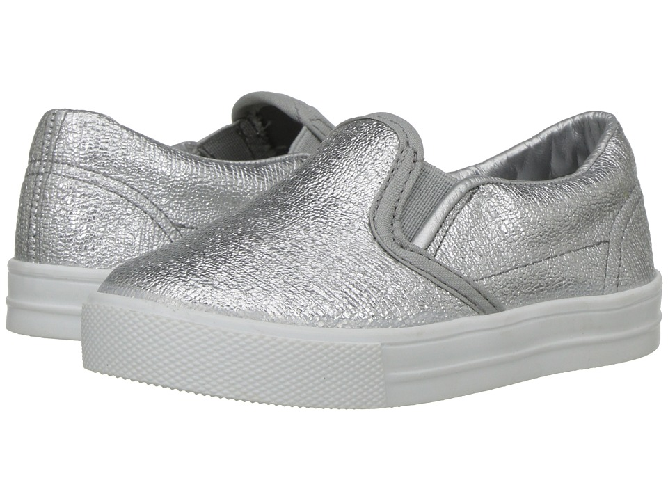 Kid Express - Maxine (Toddler/Little Kid/Big Kid) (Silver Combo) Girls Shoes