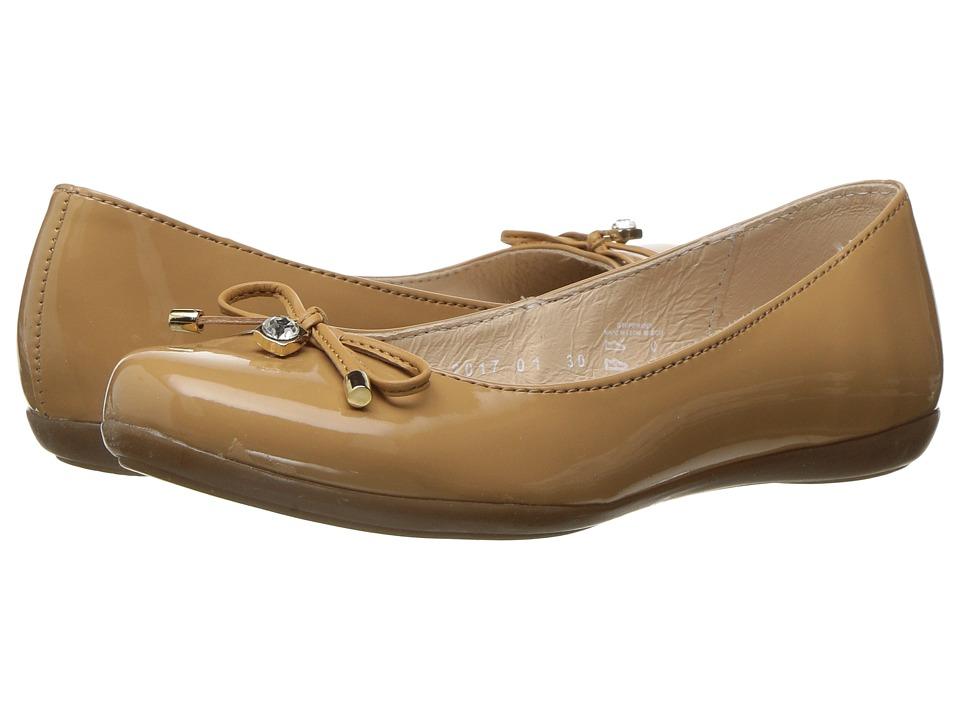 Kid Express - Jolie (Toddler/Little Kid/Big Kid) (Camel Patent) Girls Shoes