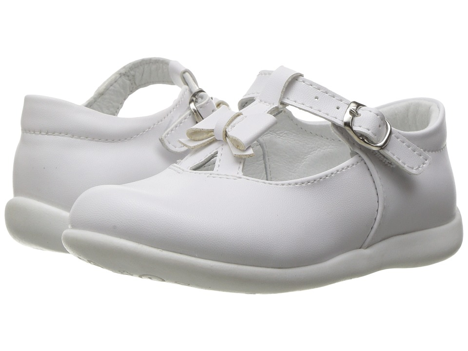 Kid Express - Ciel (Toddler/Little Kid) (White Leather) Girl's Shoes