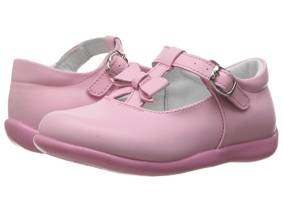 Kid Express - Ciel (Toddler/Little Kid) (Pink Leather) Girl's Shoes
