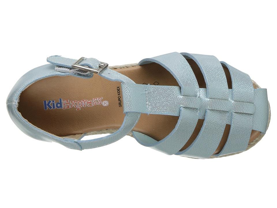 Kid Express Xaviera (Toddler/Little Kid) (Mint Glitter Patent) Girls Shoes