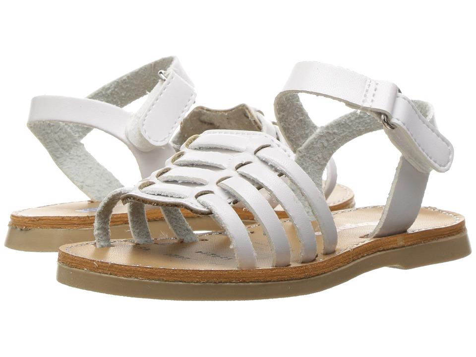 Kid Express - Antoinette (Toddler/Little Kid) (White Combo) Girls Shoes