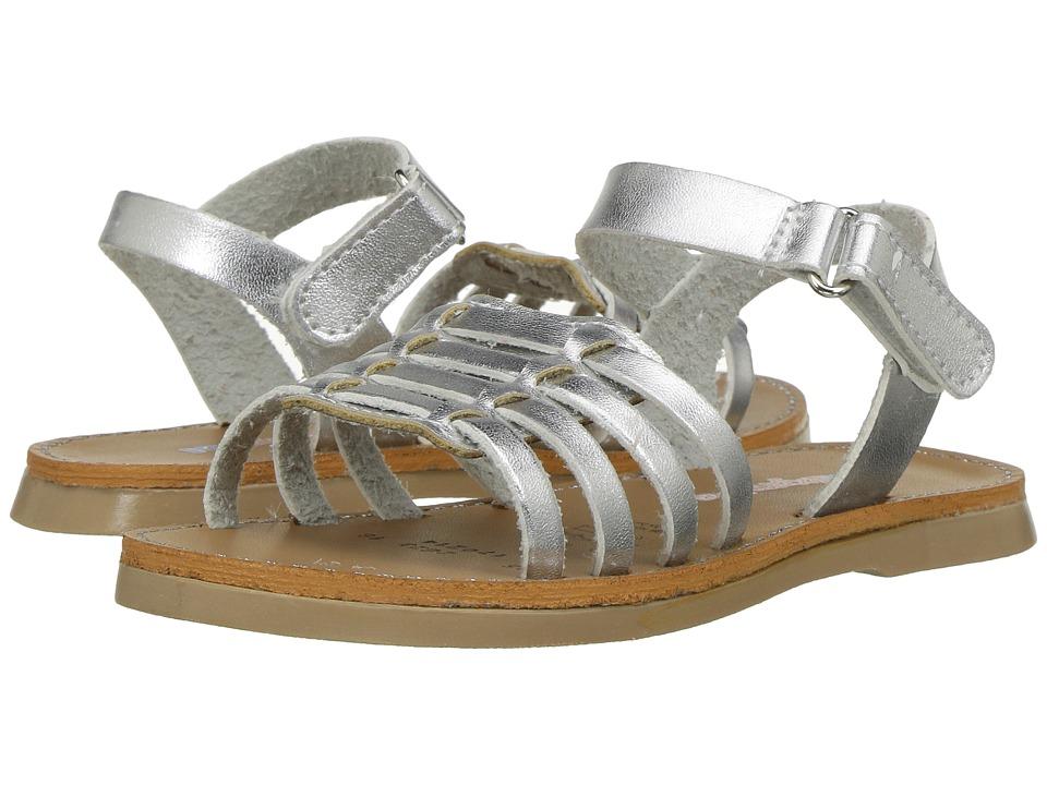 Kid Express - Antoinette (Toddler/Little Kid) (Silver Combo) Girls Shoes