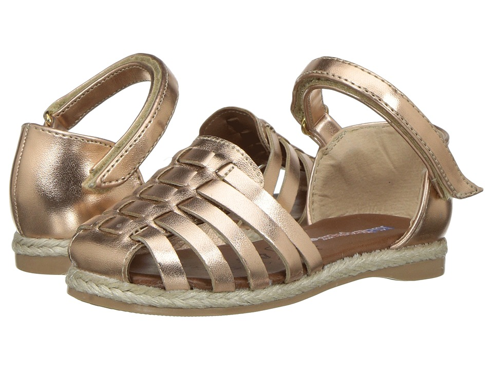 Kid Express - Sunshine (Toddler/Little Kid) (Rose Gold Metallic) Girls Shoes