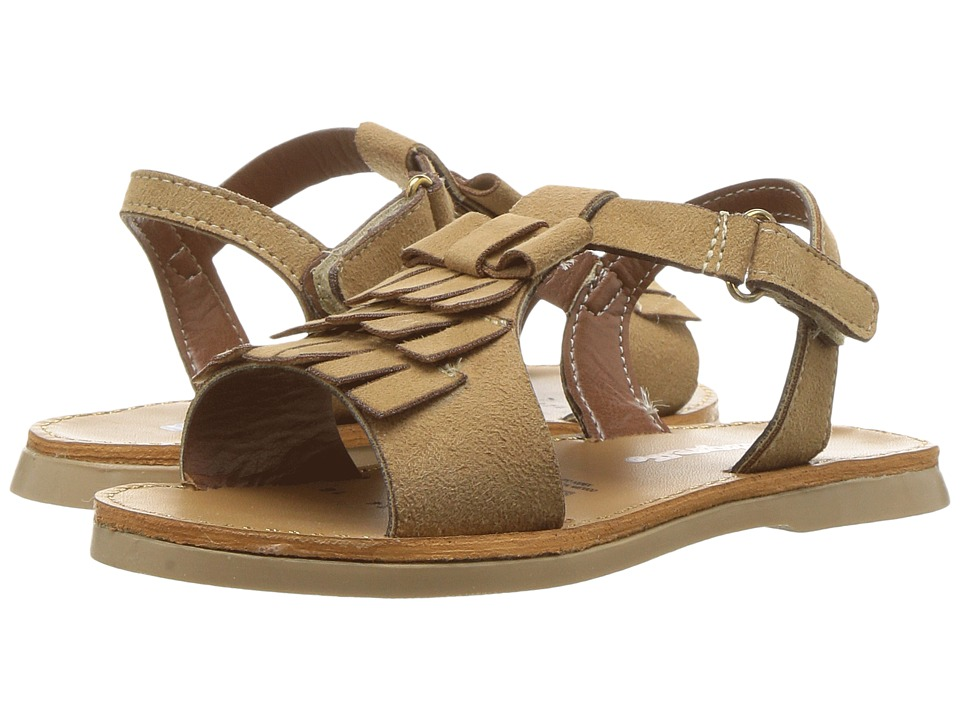 Kid Express - Sequoia (Toddler/Little Kid) (Camel Combo) Girls Shoes