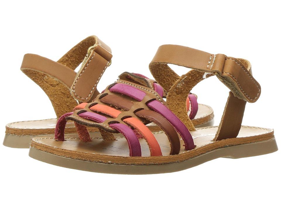 Kid Express - Antoinette (Toddler/Little Kid) (Camel Combo) Girls Shoes