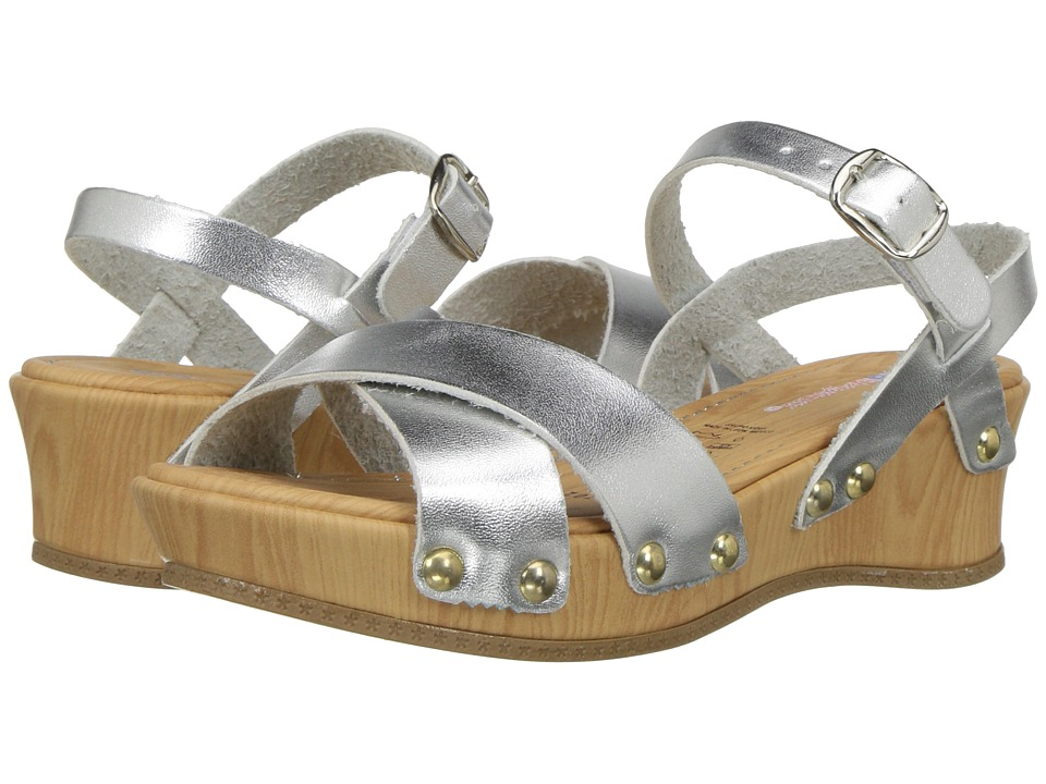 Kid Express - Laurie (Toddler/Little Kid) (Silver Metallic) Girls Shoes