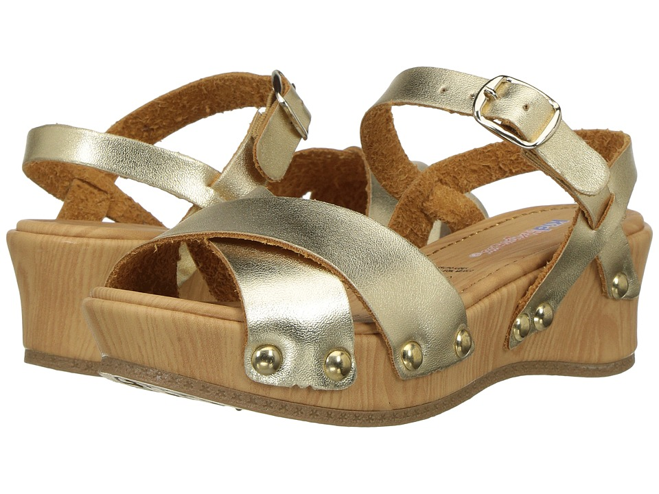 Kid Express - Laurie (Toddler/Little Kid) (Gold Metallic) Girls Shoes