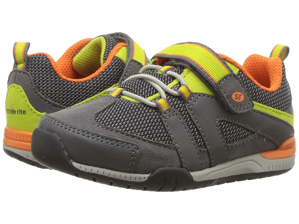 Stride Rite - Moss (Toddler/Little Kid) (Grey) Boy's Shoes