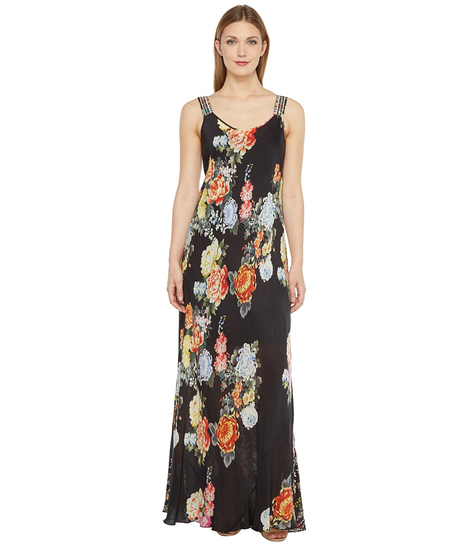 Johnny Was - Mixed Prints Maxi Tank Dress (Multi A) Women's Dress