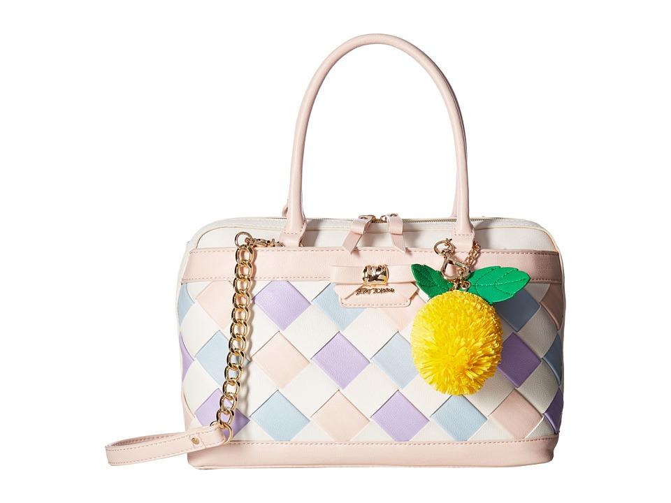 Betsey Johnson - Forbidden Fruit Satchel (Multi) Satchel Handbags