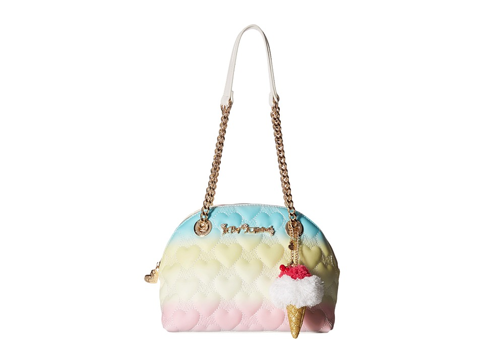 Betsey Johnson - Split Decision Dome Satchel (Rainbow) Satchel Handbags