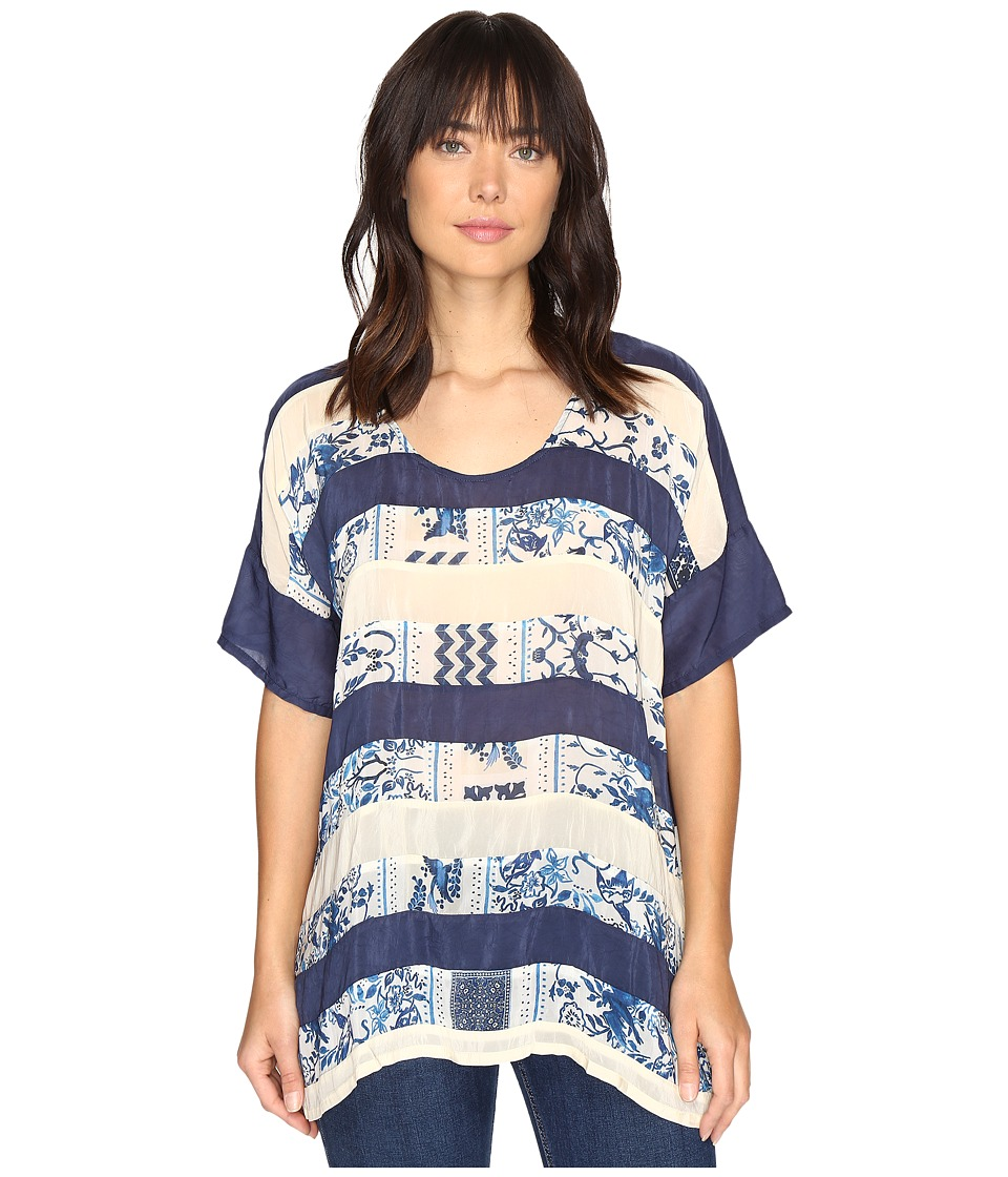 Johnny Was - Retreat Panel Top (Multi A) Women's Clothing