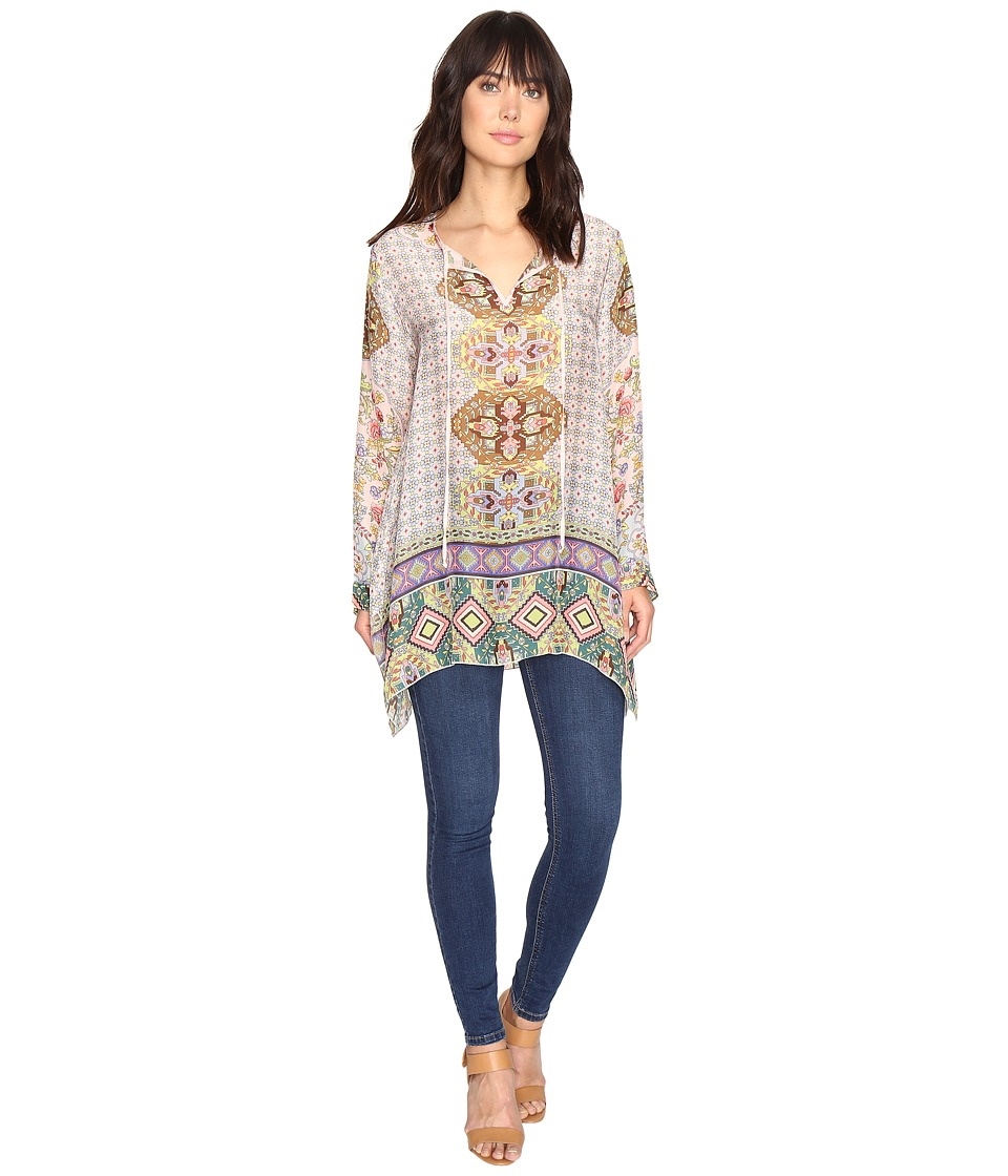 Johnny Was - Tempo Flair Blouse (Multi A) Women's Blouse