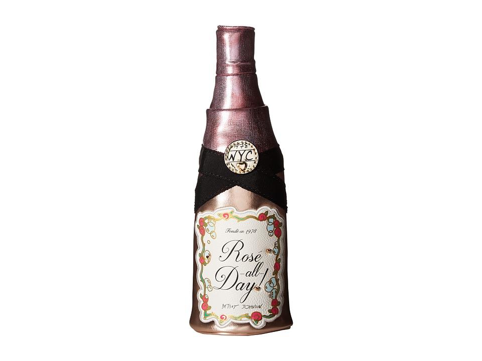 Betsey Johnson - Yes Way Rose Wristlet (Pink) Wristlet Handbags