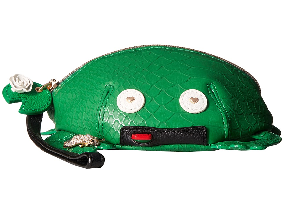 Betsey Johnson - Mr Unforgettable Wristlet (Green) Wristlet Handbags