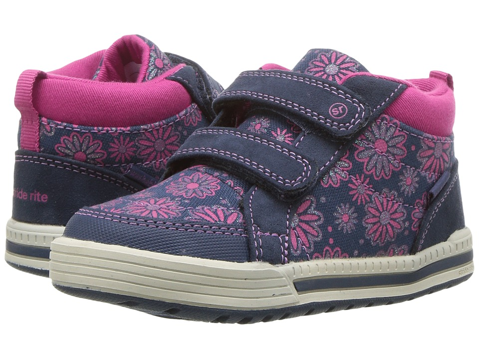Stride Rite - Made 2 Play Sydney (Toddler) (Navy Sparkle) Girl's Shoes
