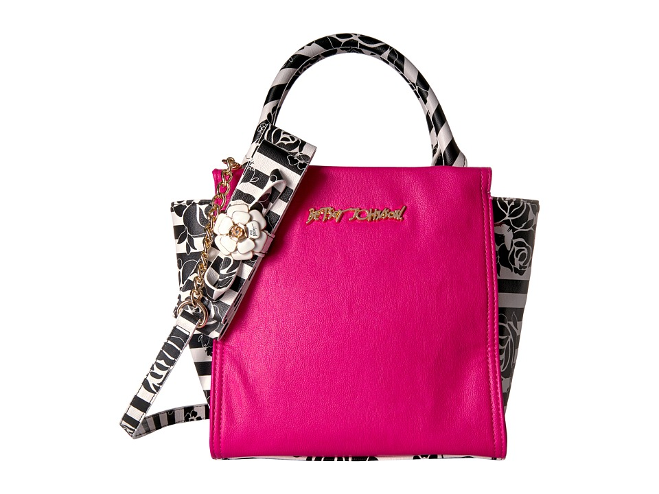 Betsey Johnson - Petal To The Metal Tote (Fuchsia) Tote Handbags