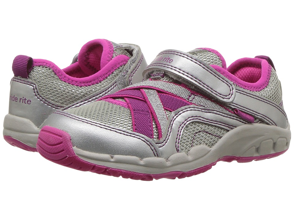 Stride Rite - Made 2 Play Nicole (Toddler/Little Kid) (Silver) Girl's Shoes