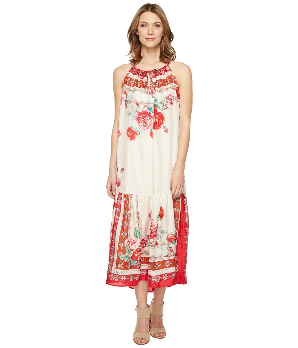 Johnny Was - Secret Garden Dress w/ Slip (Multi) Women's Dress