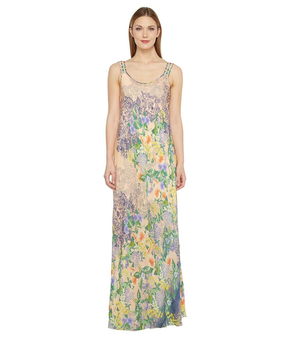 Johnny Was - Mixed Prints Maxi Tank Dress (Multi B) Women's Dress